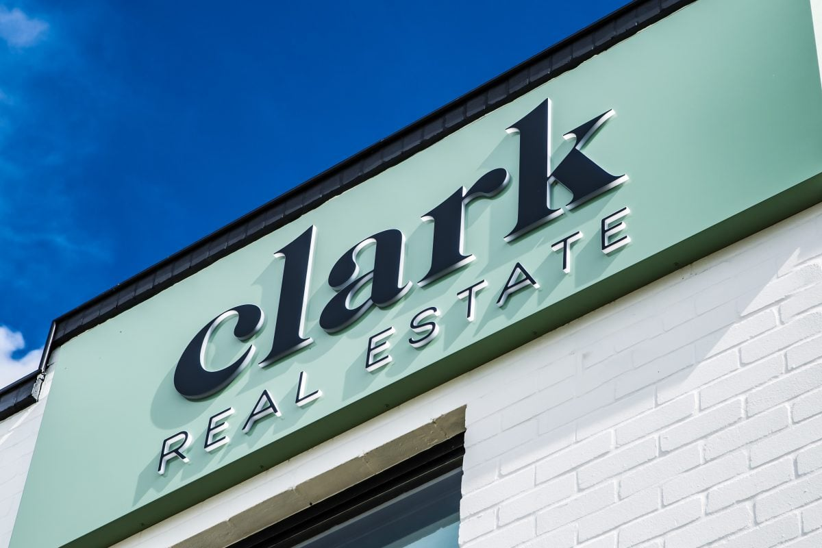Clark Real Estate logo and brand